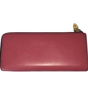 Red Alexander McQueen Wallet